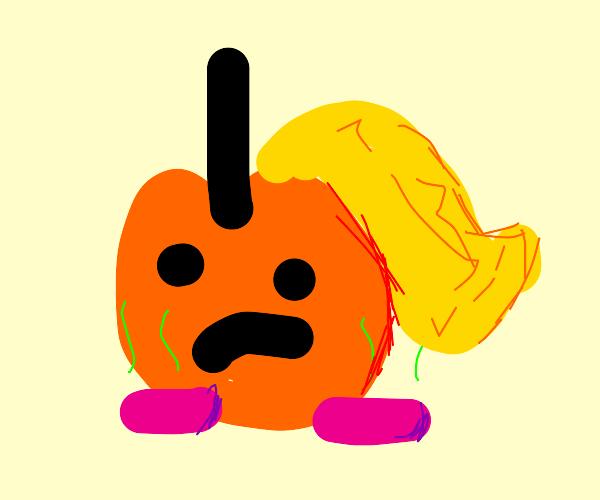 Princess Peach has stinky feet