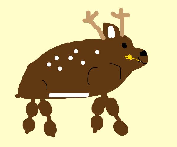 bulky deer