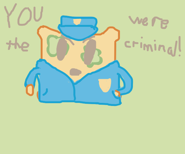 moldy bread police finds the culprit