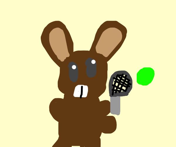 serena williams but she's a rabbit