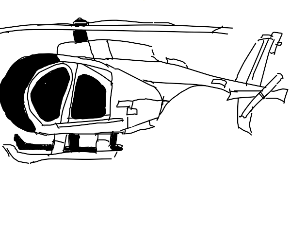 Military helocopter