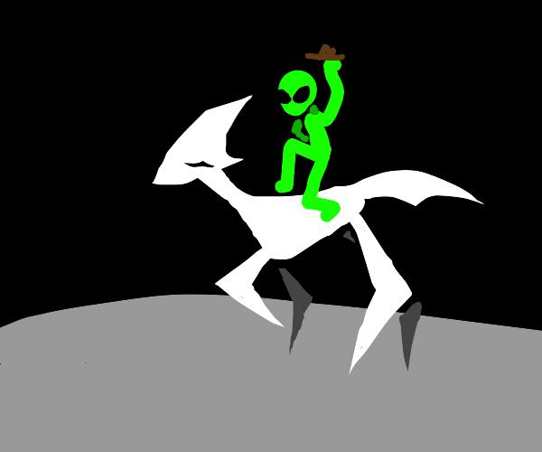 Alien horse