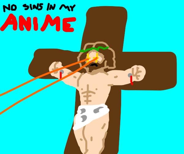 Degeneracy detected in Christian anime