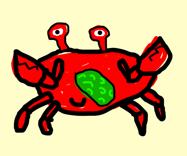 Pickle-Nosed Crab
