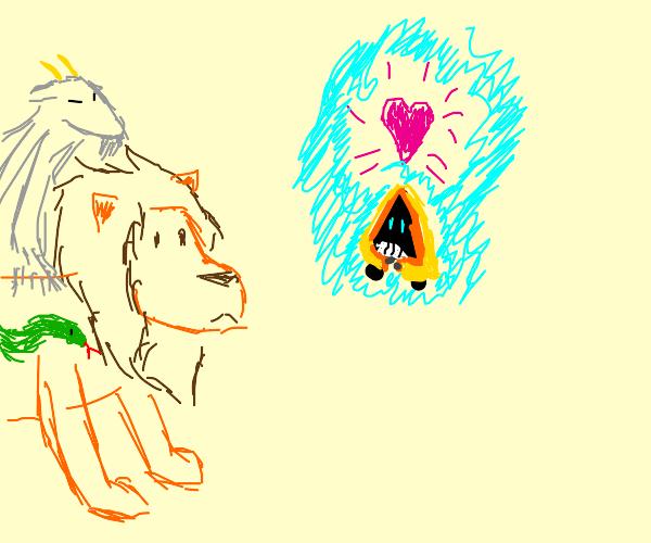 That one cute poncho pokemon loves a chimera