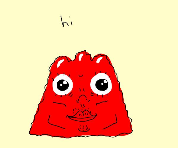 jello saying hi