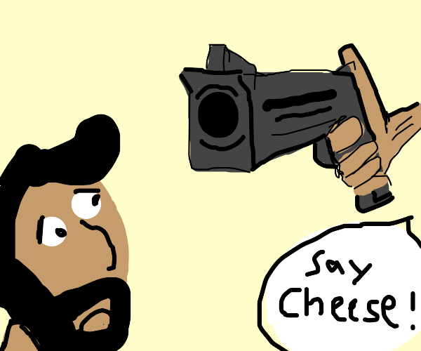 Pose for the GUN