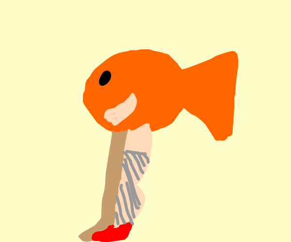 Fish with arms and legs