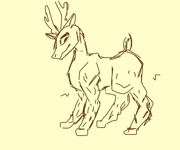 Deer with Muscle legs