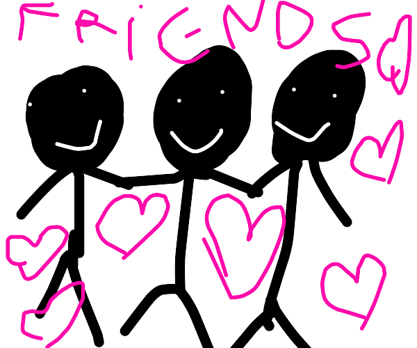 """""""I like to hold my friends close to me."""""""