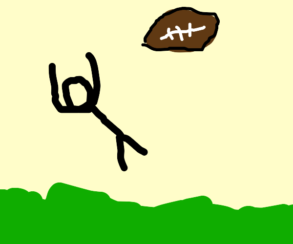 Catching a Football