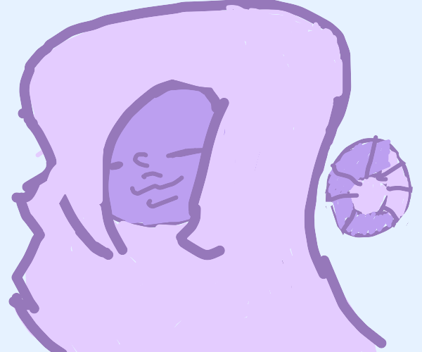 Alien with a precious jewel