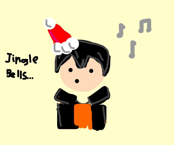 kageyama singing