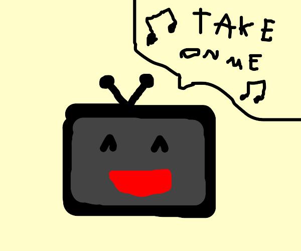 Tv singing take on me