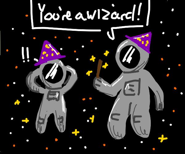 Magic Astronaut