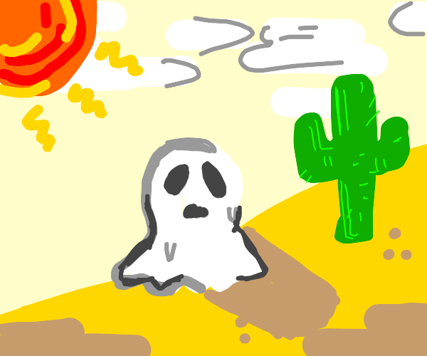 Ghoul in the Desert