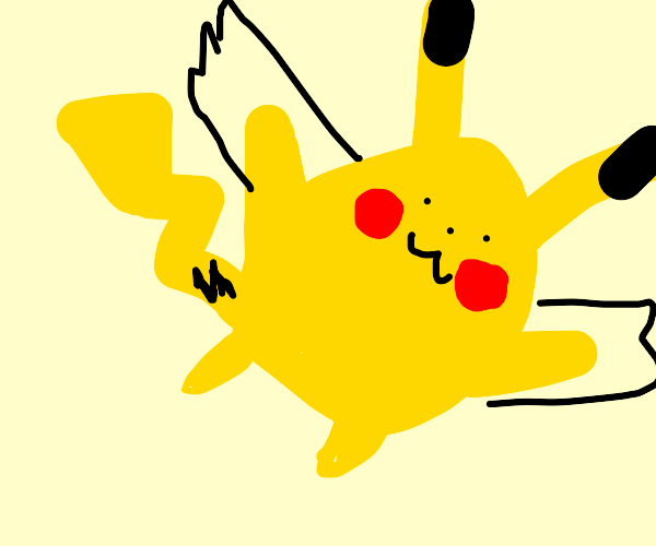 pikachu soars with newly grown wings