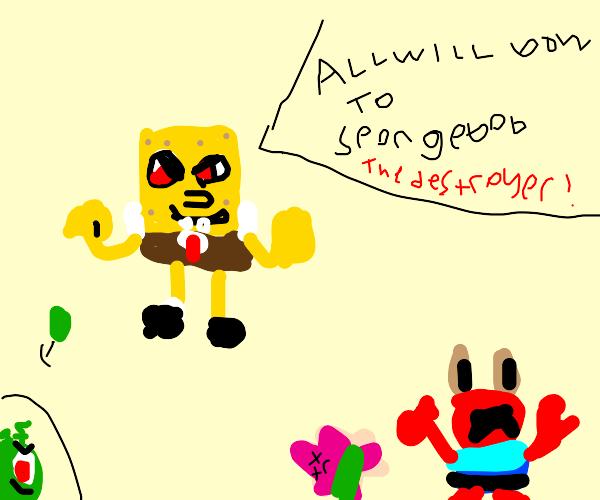 spongebob gives villian speech