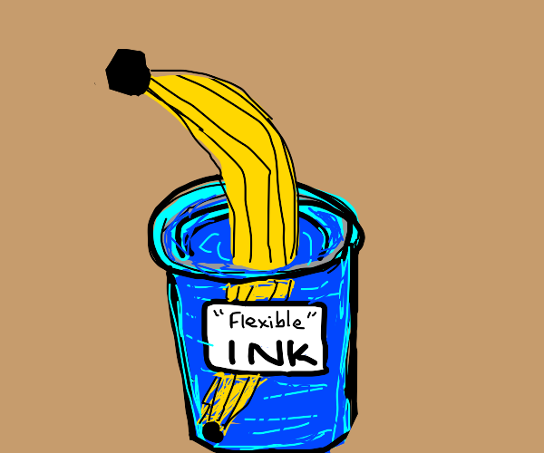looks like a banana from than bendy ink game