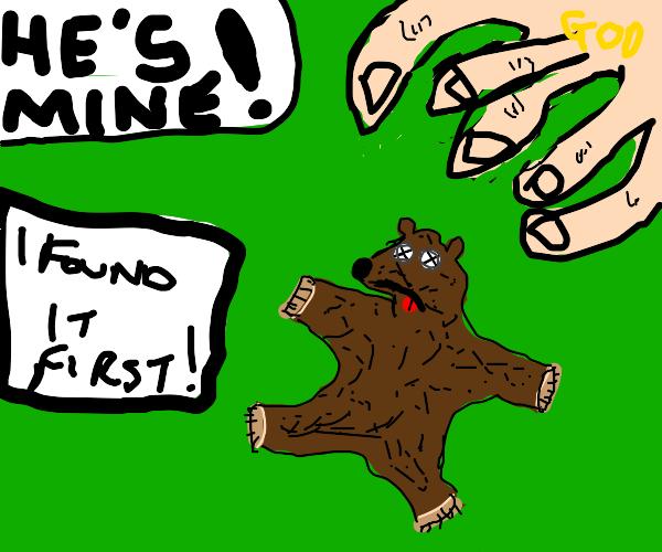 God claims bear