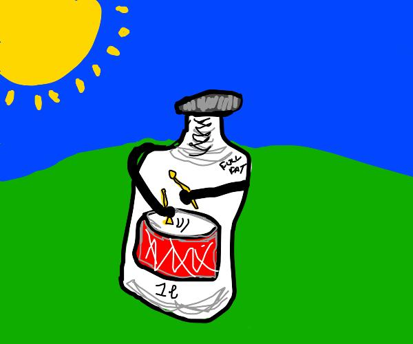 Milk drummer