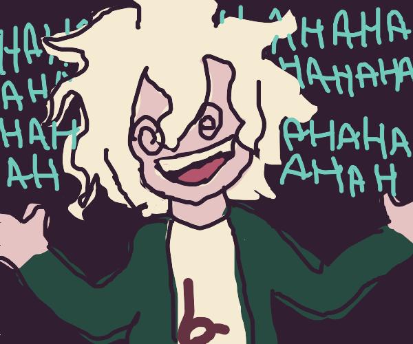 nagito's weird laugh that everyone loves