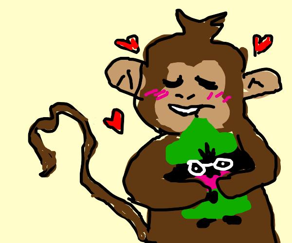 monkey likes deltarune