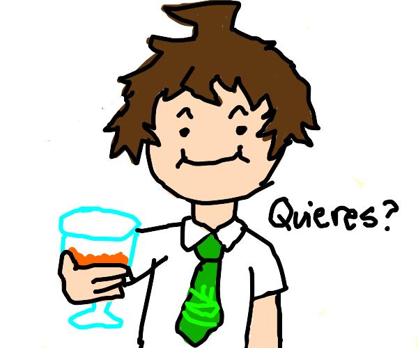 Hajime has ACQUIRED the Orange Juice