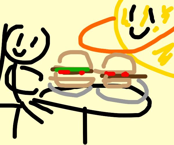 Eating with Jupiter