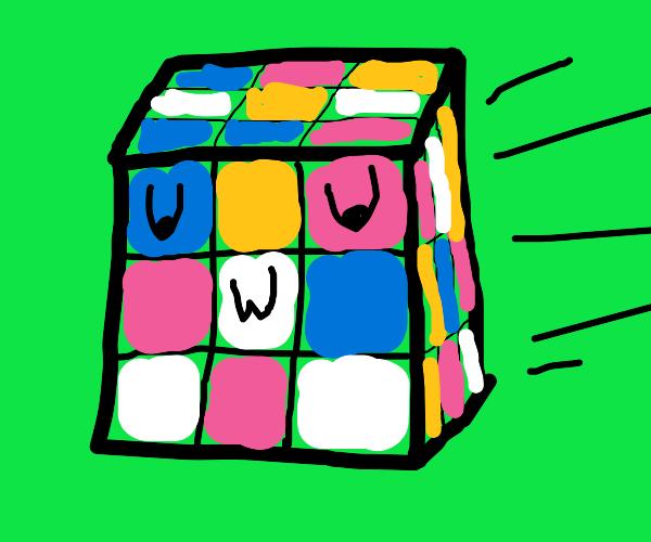 UwU rubix cubes come to life