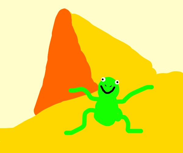 kermit dances in egypt