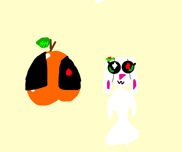 Peach marries a dead bunny