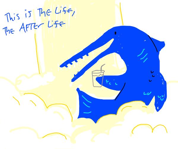 Swordfish enjoying Heaven