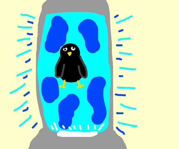 Nightingale in a Lava Lamp