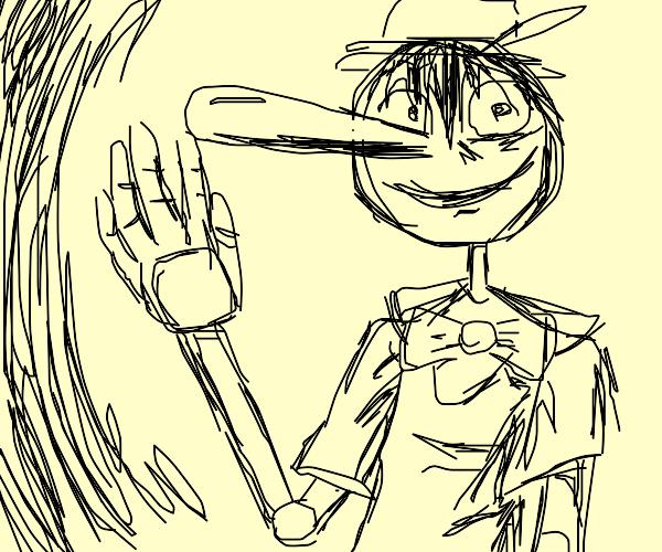 Cursed Pinocchio
