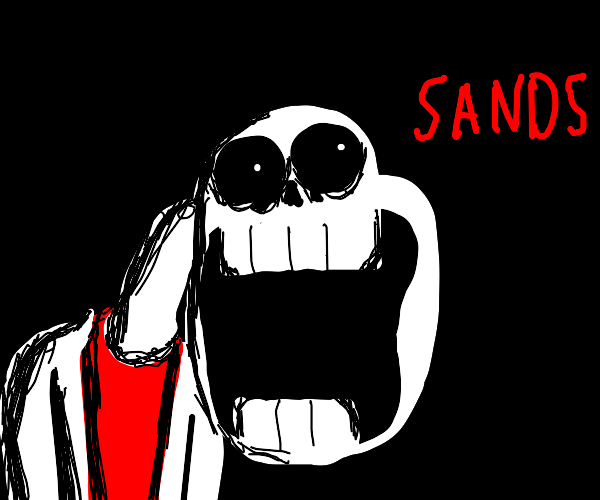 Corrupt Undertale-style Character