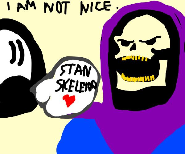 Person is a villain stan