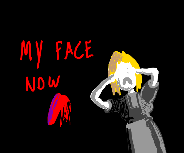 maid with no face