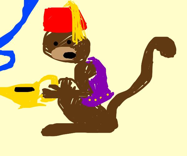 Aladdin Monkey