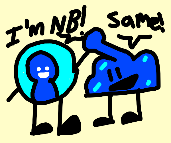 the non-binary BFB characters!!