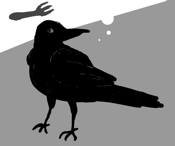 Jim the crow thinks about forks