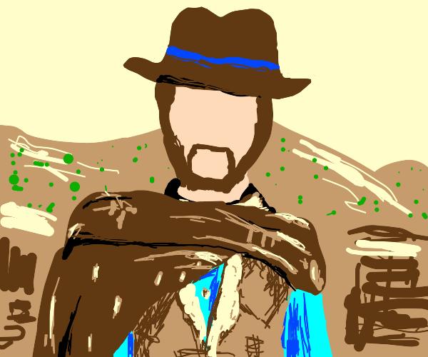 blank cowboy