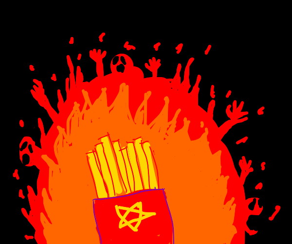 Fries from Hell