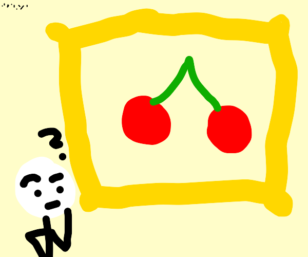 Pondering the art of cherries