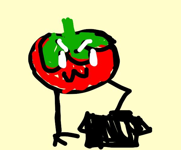 Tomato stomping