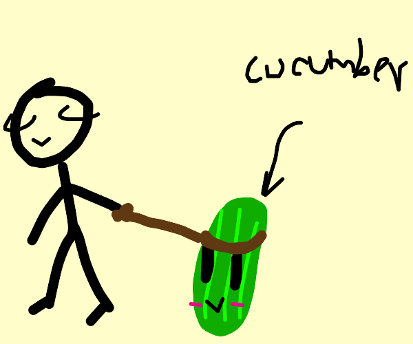 cucumber pet