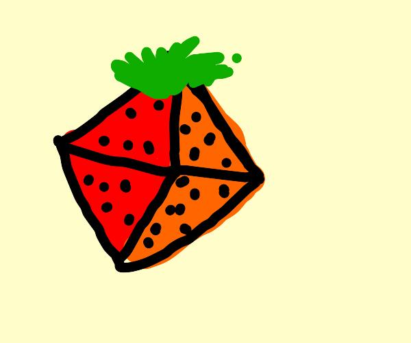 Octahedron strawberry