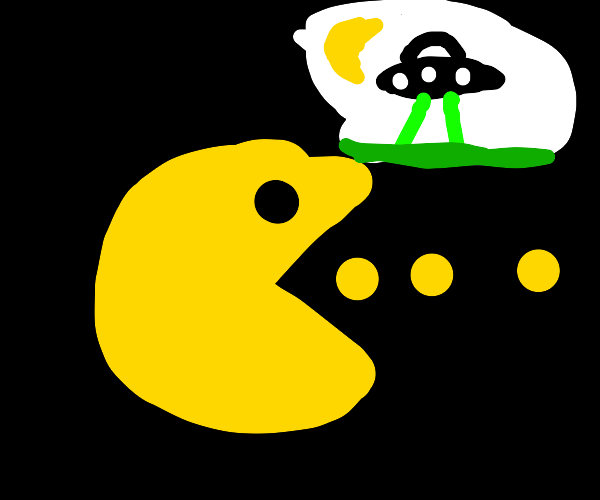 Pacman makes conspiracy theories