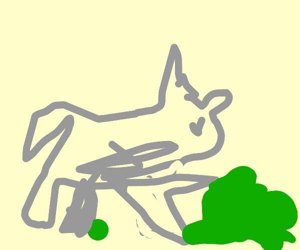 Big Bad Wolf pushing Spinach