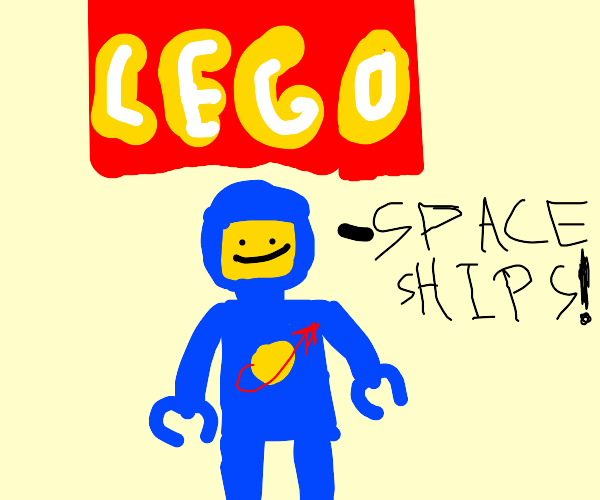 LEGO SPACEMAN SPACEMAN SPACEMANNNNN